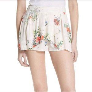 Ivory Night Watcher High Rise Skirt / Xs Shorts
